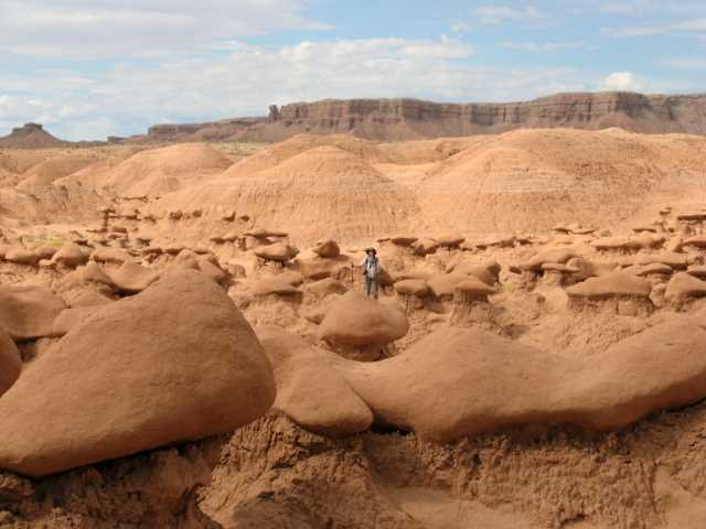 Kelleen in Goblin Valley