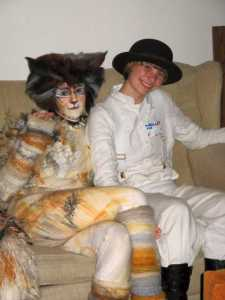 Cats' Cat and Alex from the Clockwork Orange
