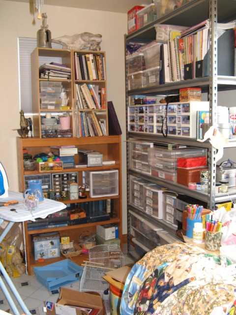 Plenty of storage, but most of it's plastic: neat, clean, dead.