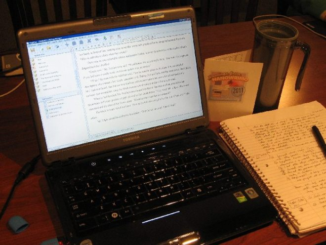 Laptop and notebook NaNo