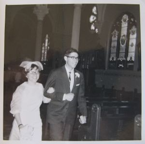 My parents, June 9th, 1964.