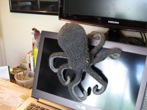My octopus is all ready to lend a hand. (Sorry. I couldn't resist.)