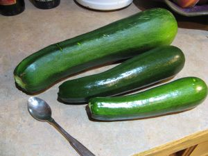 My super-sized sneaky zucchini