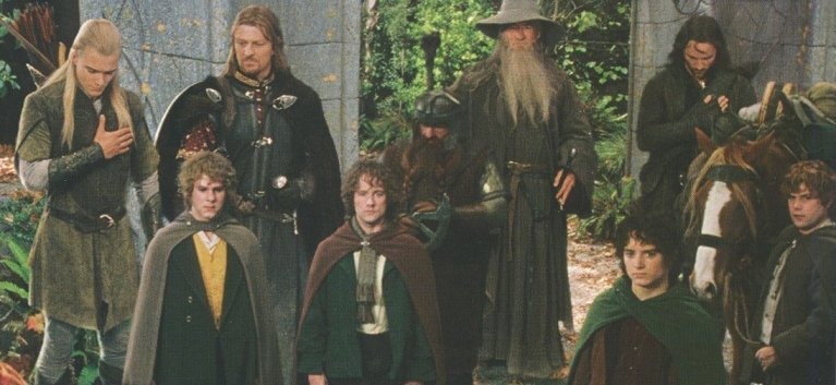If by some weird chance I get to hang out with these guys some day, I want to be ready!  (photo from Lord of the Rings: Fellowship of the Ring, New Line Cinema)