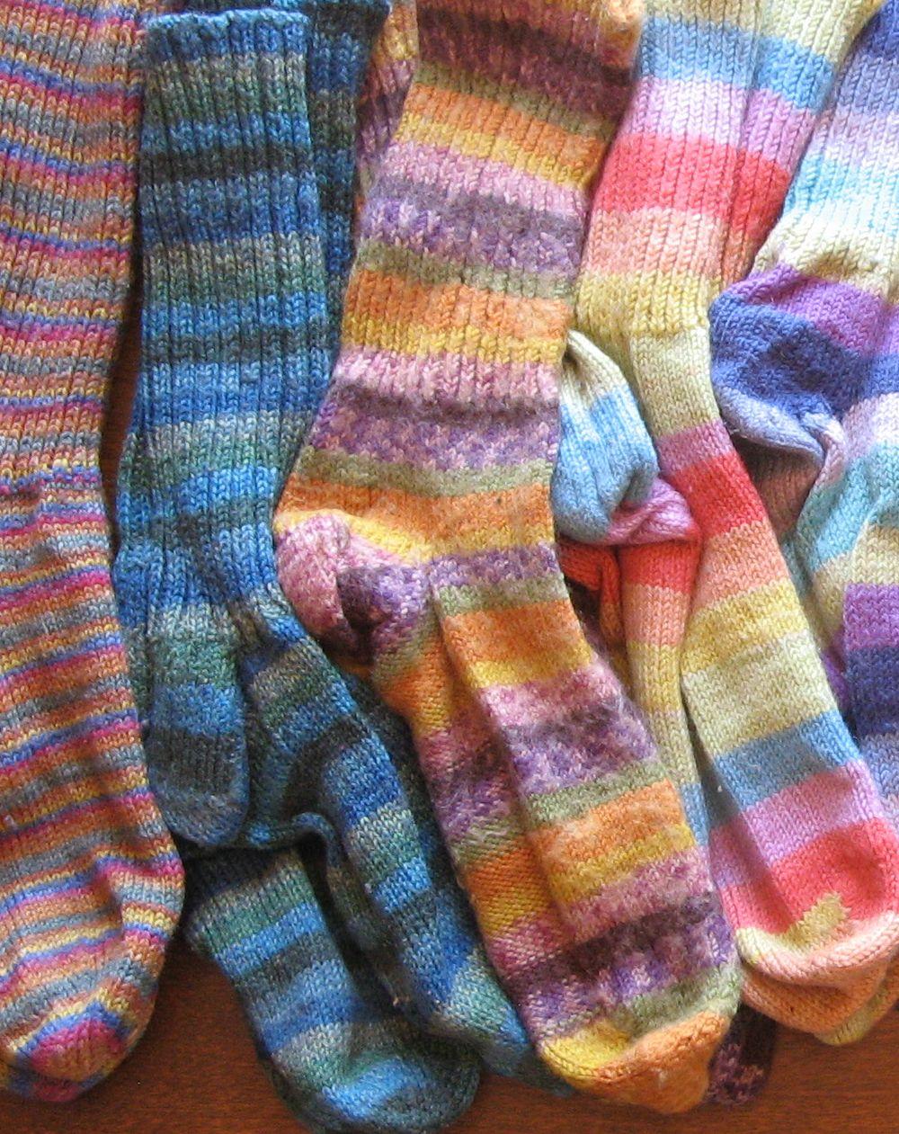 Sock Knitting Blogs : The Joys of My Sock-Knitting Rut   Kit Dunsmores Blog