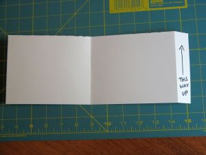One prepared section (2 pages) with well-marked tab