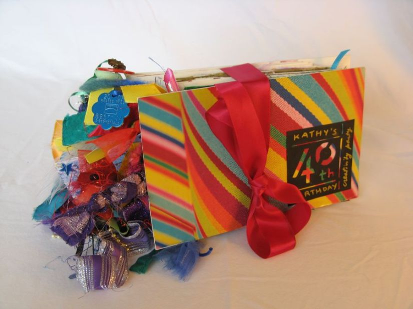 My Creativity-Party Accordion Book I: Turning a Flaw into aFeature