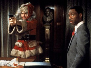 Dan Ackroys and Eddie Murphy in Trading Places