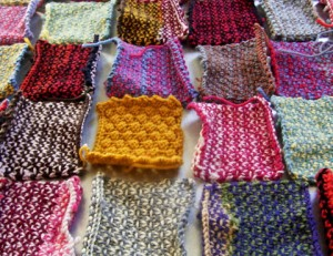 Half Linen Stitch Knit Blocks (Jezze Prints)