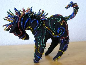Beaded pony by Kit Dunsmore