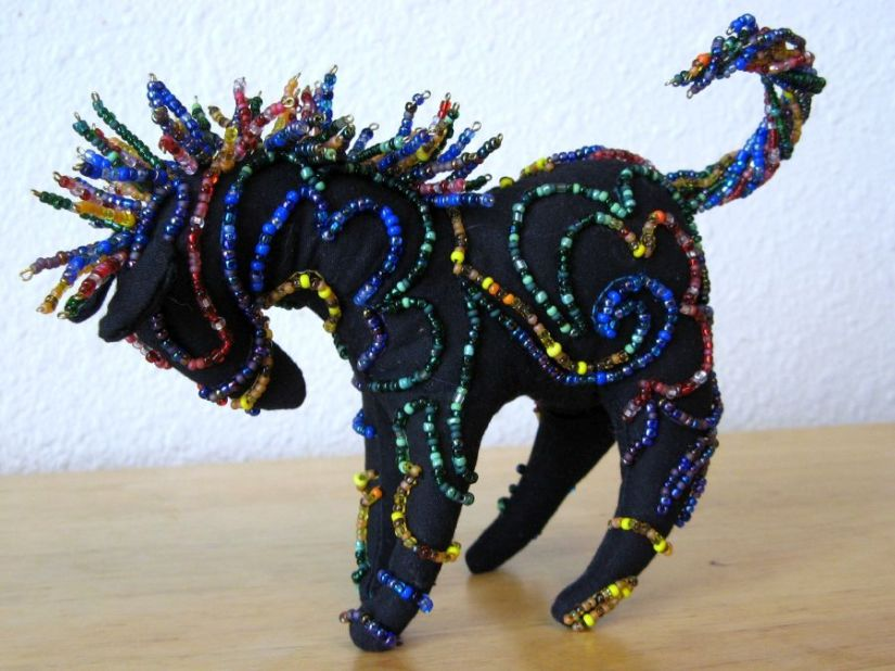 Past Projects: Beaded Pony