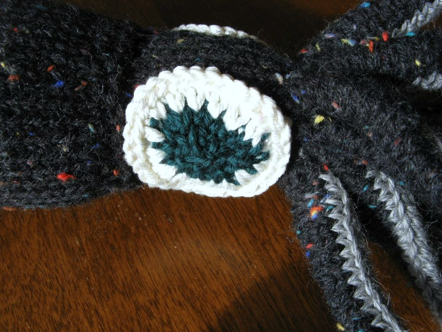 finished friday knitted giant squid � kit dunsmores blog