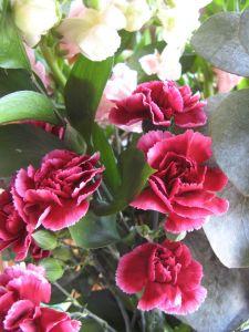 I buy myself flowers to cheer myself up.