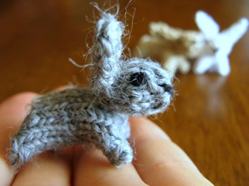 Great Mini Animals to Knit — If You Can Unravel The Instructions