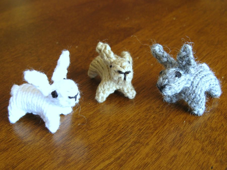 Knitting Patterns For Miniature Animals : Great Mini Animals to Knit   If You Can Unravel The Instructions   Kit Dunsmo...