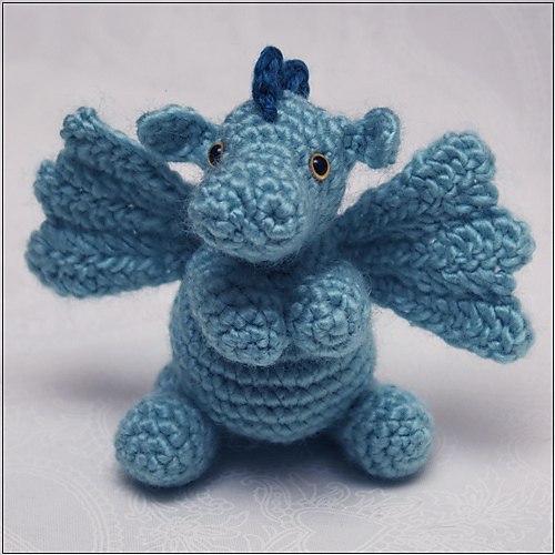Darby the Dragon by Dragons Don't Knit