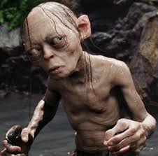 The untrustworthy but pathetic Gollum