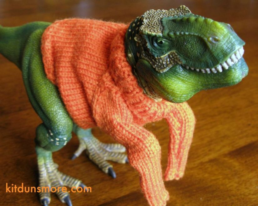 Knits For Your Favorite T-Rex