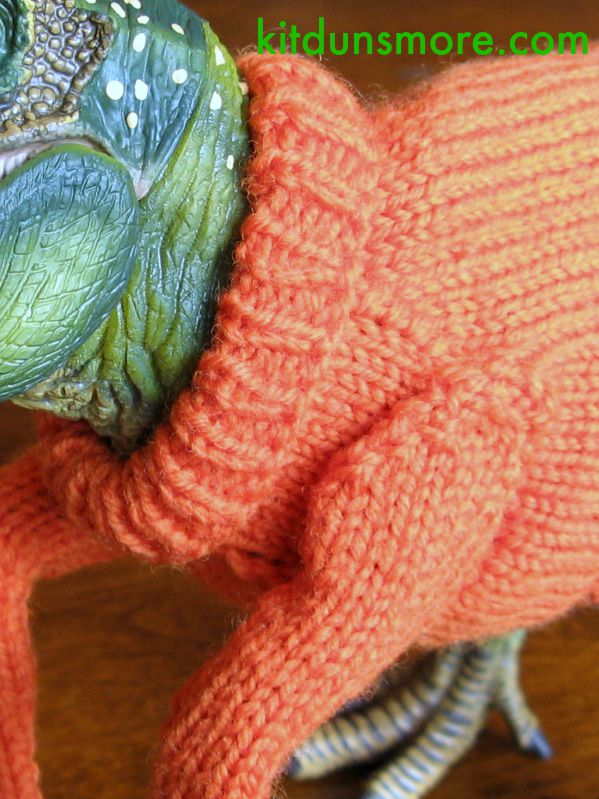 Close up of the sweater (because I couldn't resist).
