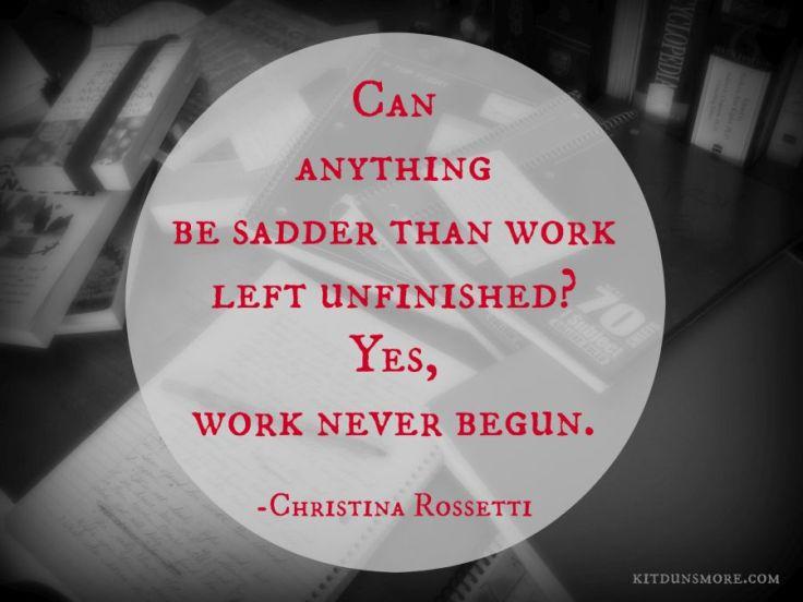 WorkUnfinished