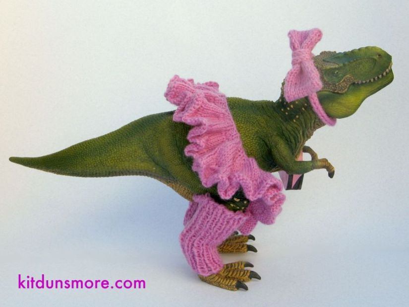 Back-to-School Knits for Your T-Rex