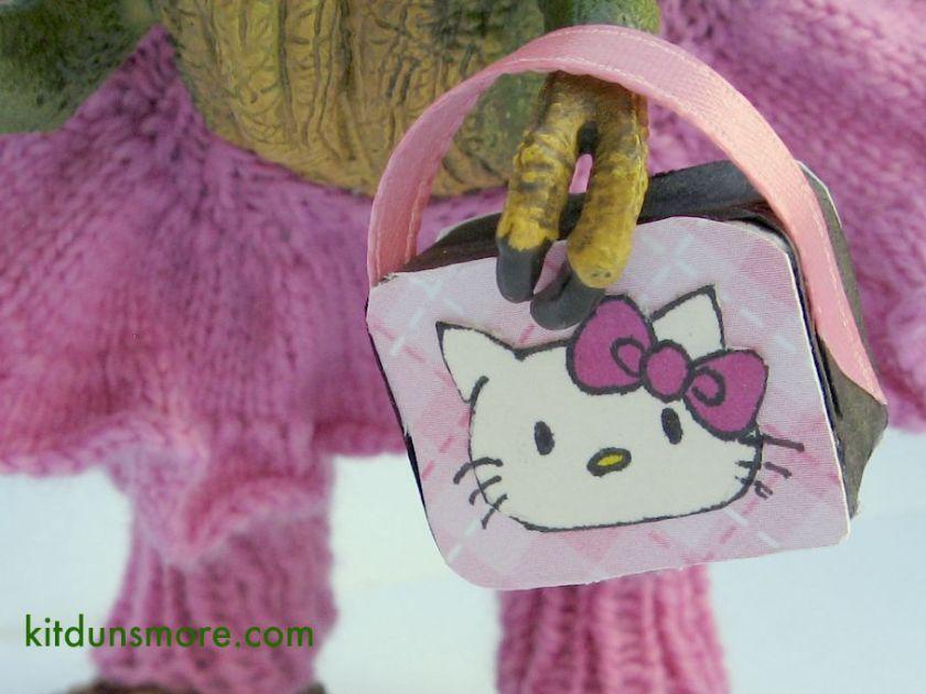 Tiny loves Hello Kitty.