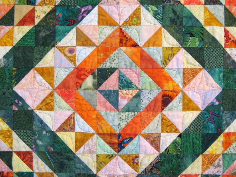 Quilting Doesn't Take Forever; It Just Feels LikeIt