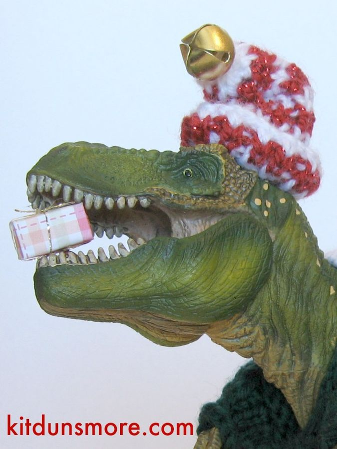 Tiny the T. Rex: Santa's Not-So-Little Helper