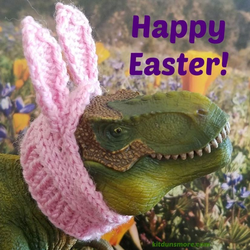 T. Rex Easter Bunny