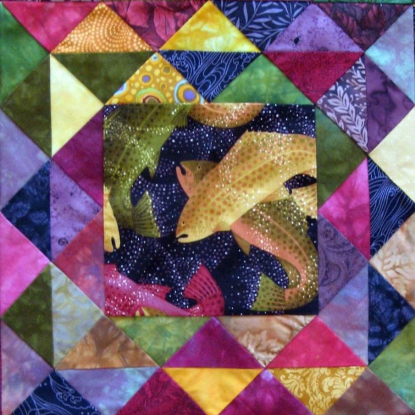 One Way to Finish Quilts Faster: Downsize YourProject