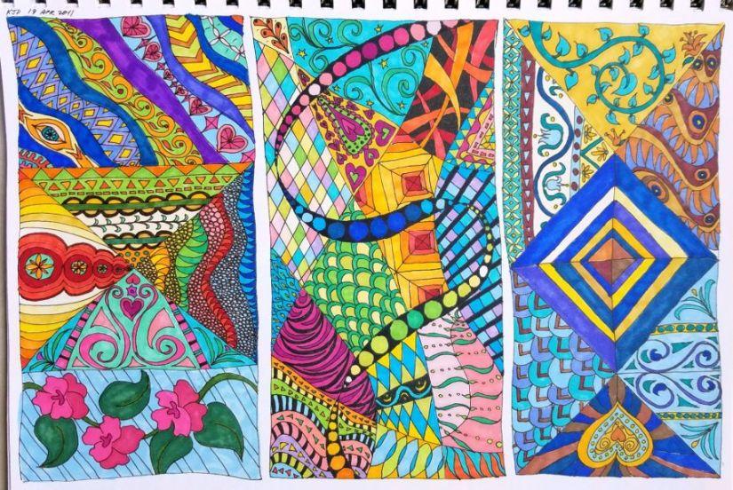DIY Coloring BookInspirations