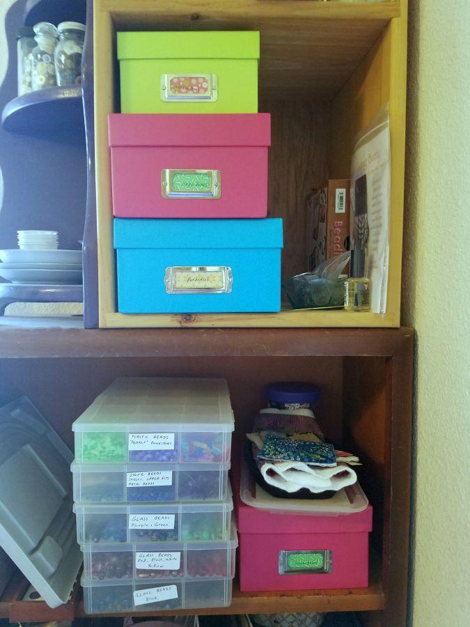 How Organization Improves My Studio Time –Still!
