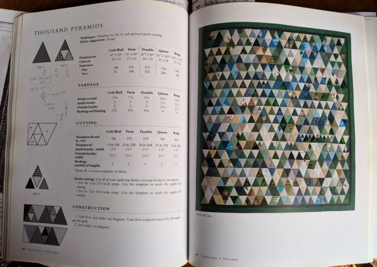 Pages 68 and 69 of Quilts! Quilts! Quilts! The Complete Guide to Quilt Making